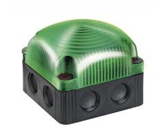 853.200.60 Werma  LED Beacon 853  230vAC 4:GREEN LED Permanent IP66/67 Base Mount