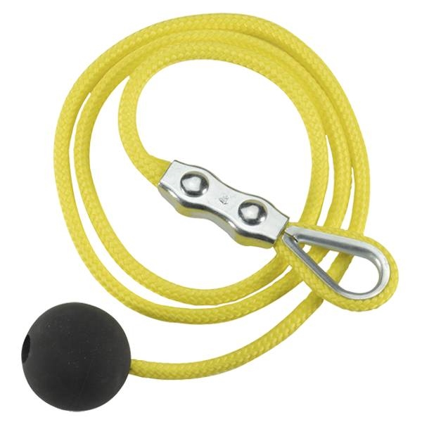 04.73.7109 Steute  Yellow wire rope w/ball+Duplex clamp 4m Accessories For Pull-wire switch (Poly.)