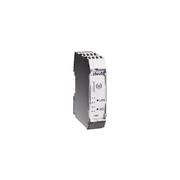 1373201 Steute 90590 Wireless receivers with relay outputs RF Rx SW868 4S 24VDC (SET)