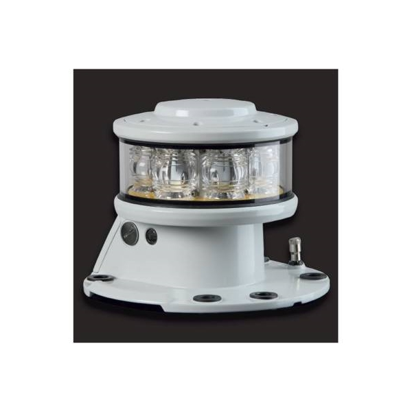 LED160NW Sabik Oy  Sabik LED 160NW, white Morse 'U' 15s Narrow(5°) 1850cd 16W,f/fixed structures